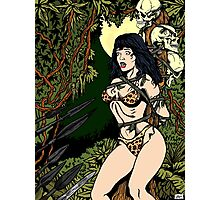 Jungle Girl Photographic Print