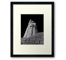 ©MS Morelos Monument At Janitzio IIAM. Framed Print