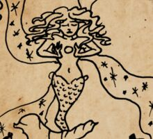 Mermaid Tarot: The Magician Sticker