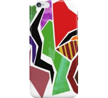 Mixed Media Abstract Collage I iPhone Case/Skin