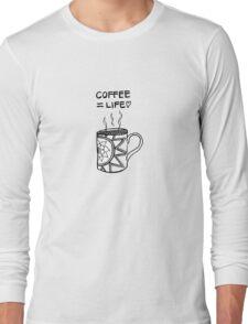 Coffee lovin' Long Sleeve T-Shirt