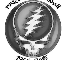 "Grateful Dead ""Fare Thee Well"" Steal Your Face GD50 Stealie by OnePeaceTees"