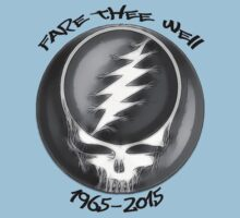 "Grateful Dead ""Fare Thee Well"" Steal Your Face GD50 Stealie One Piece - Short Sleeve"