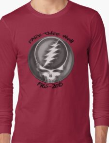"Grateful Dead ""Fare Thee Well"" Steal Your Face GD50 Stealie Long Sleeve T-Shirt"