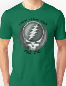 """Grateful Dead """"Fare Thee Well"""" Steal Your Face GD50 Stealie T-Shirt"""