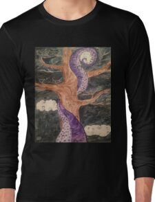 The Octopus and the Oak Tree  Long Sleeve T-Shirt