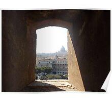 Framing Rome Poster