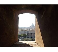 Framing Rome Photographic Print