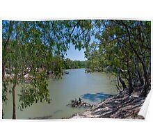 Edwards River Deniliquin  Poster