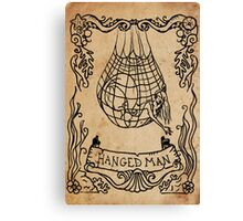 Mermaid Tarot: The Hanged Man Canvas Print