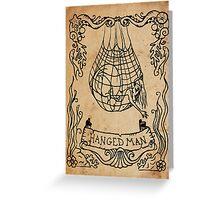 Mermaid Tarot: The Hanged Man Greeting Card