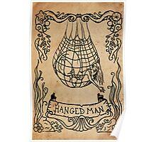 Mermaid Tarot: The Hanged Man Poster