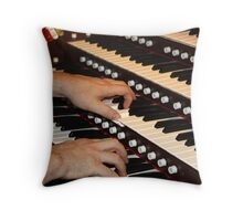 The Concert Throw Pillow