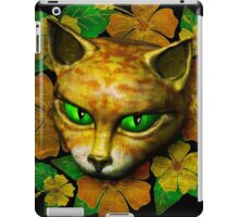 Vintage Golden Cat iPad Case/Skin