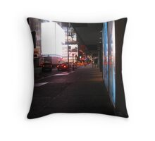 They Say the Neon Lights are Bright on Broadway Throw Pillow