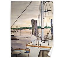 Beaufort Waterfront Poster