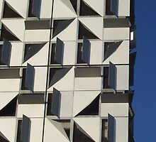 Apartment Abstract, Docklands, Melbourne. by carmelr