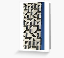 Apartment Abstract, Docklands, Melbourne. Greeting Card