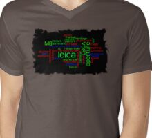 Lika My Leica M8 Mens V-Neck T-Shirt