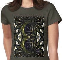 Sword Handle with Inlaid M.O.Pearl Womens Fitted T-Shirt