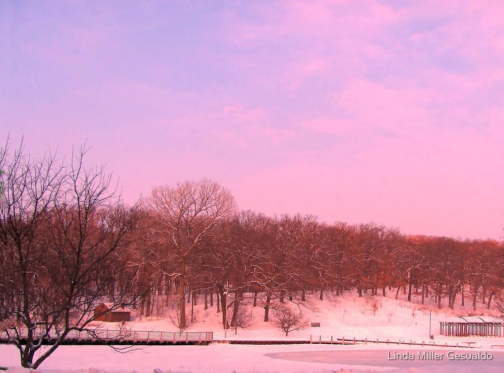 Lavender Winter by Linda Miller Gesualdo