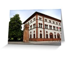 Fruchthalle  Greeting Card