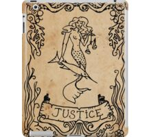 Mermaid Tarot: Justice iPad Case/Skin