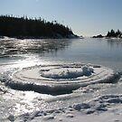 Heron Bay Ontario - Wharf Road - Lake Superior by loralea