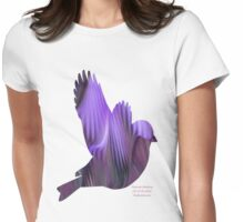 Purple Martin? Womens Fitted T-Shirt