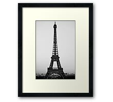 Tour Eiffel (Paris, France) Framed Print