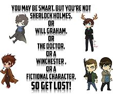 Fictional Character Awesomeness! by SuperNebula