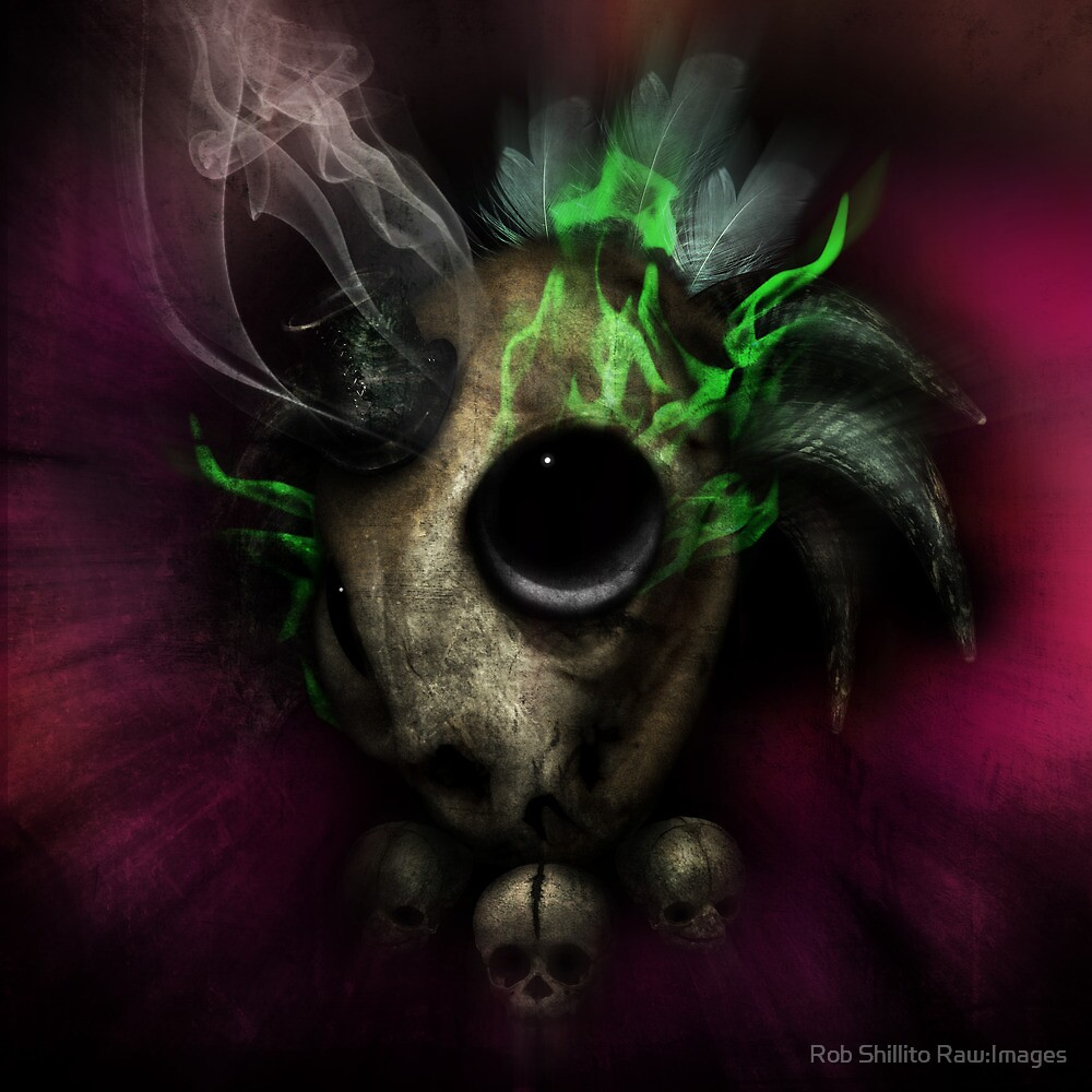 Voodoo Priest by Rob Shillito Raw:Images