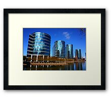 Oracle Campus, San Francisco Bay Area. 2010  Framed Print