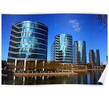 Oracle Campus, San Francisco Bay Area. 2010  Poster