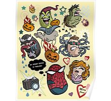 Spidey and Friends Poster