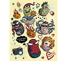 Spidey and Friends Photographic Print