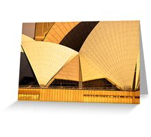 Golden Sails - Sydney Opera House Greeting Card