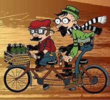Super Tandem Bros by GrimaceGraphics