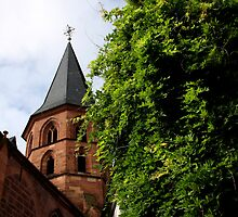 Historical Abbey Church Kaiserslautern by SmoothBreeze7