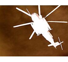 Gunship overhead Photographic Print