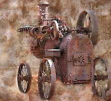 Long ago there was steam. by Michael  Gunterman