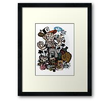 SF Giants Framed Print
