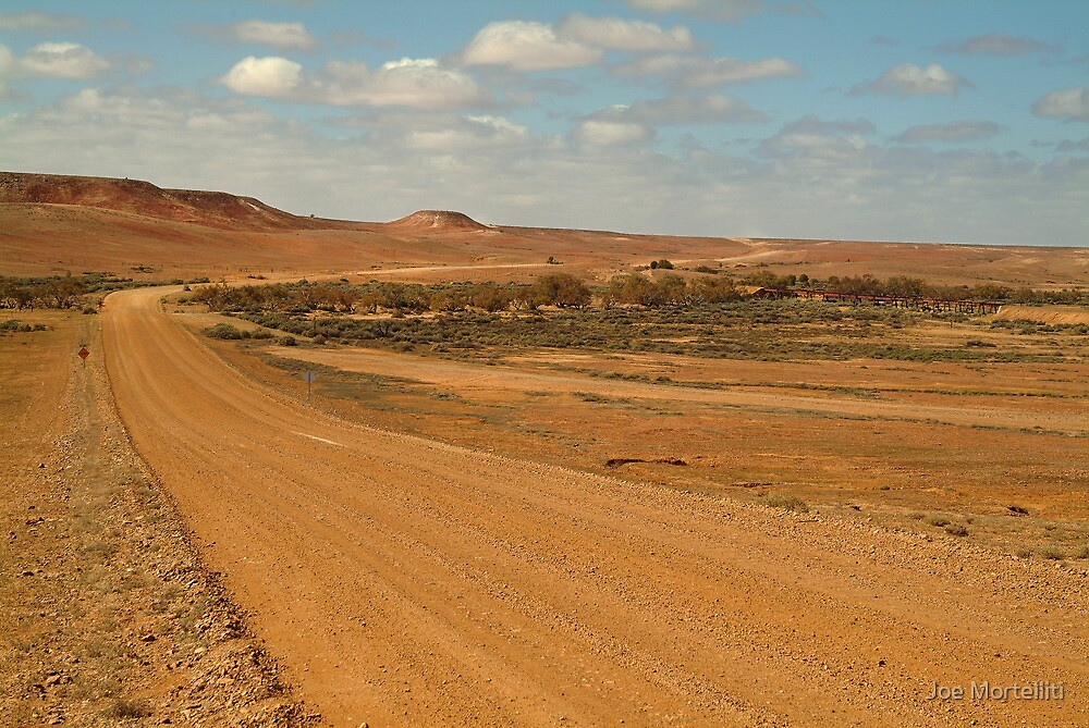 Oodnadatta Track,Outback South Australia by Joe Mortelliti