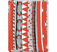 stripy patterns iPad Case/Skin