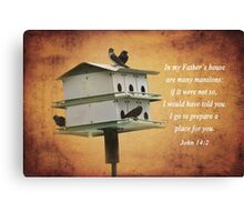 My Father's House Canvas Print