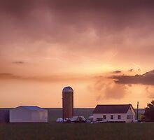 Evening Country Storm by Bo Insogna