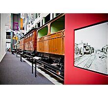 History of Train in Australia Photographic Print