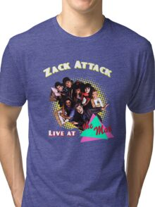 Zack Attack Live at the max  Tri-blend T-Shirt