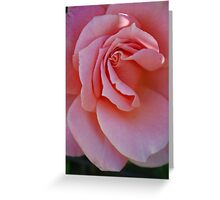 Pink Gown Greeting Card