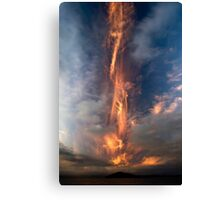 Fire Sword, Mokoia Island. Canvas Print